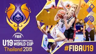 USA v Belgium - Highlights - FIBA U19 Women's Basketball World Cup 2019
