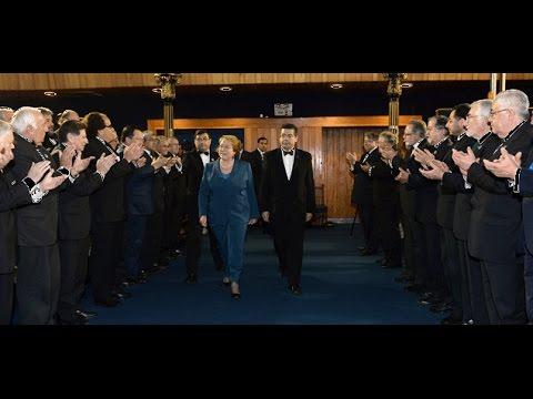 Discurso De Michelle Bachelet En Asamblea De La Gran Logia De Chile