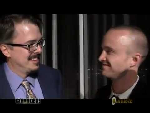 Aaron Paul & Vince Gilligan Interview at the Saturn Awards 2010