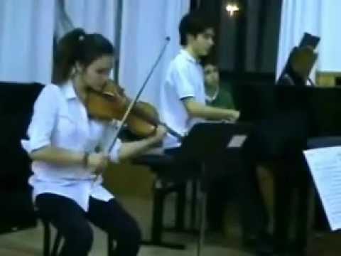 Sonata Schubert - Piano, violín y cello - Conservatorio Carmen Conde