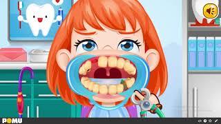 Trò Chơi làm sạch răng cùng bé - Game thiếu nhi - Games clean teeth with baby