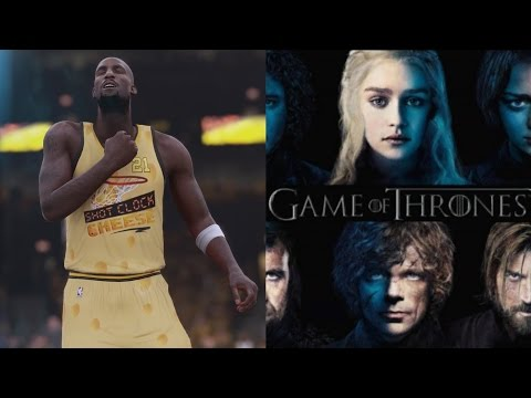 NBA 2K16 PS4 My Team - 14 Splashes Game of Thrones!