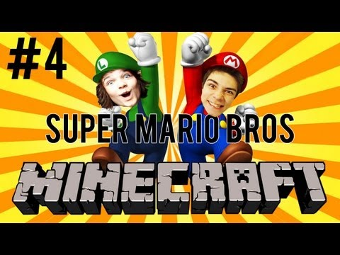 MINECRAFT Super MARIO Bros! #4 - HAJ FAJF, MULTI!