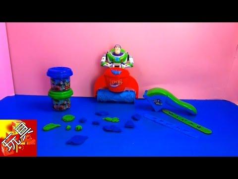Toy Story 玩具總動員 巴斯光年 Buzz Lightyear彩泥套裝 組裝 展示