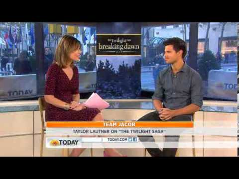 The Today Show Interview with Taylor Lautner