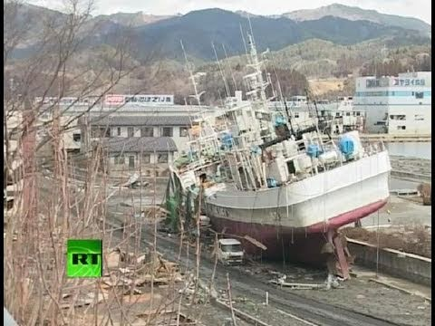 Rt Footage Of Japan Kesennuma 'ghost' Port City Smashed By Tsunami video