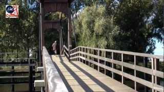 Wooden bicycle drawbridge 's-Hertogenbosch (Netherlands)