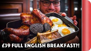 London's Best Full English Breakfast?! (At 3 Price Points)