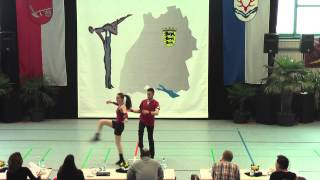 Isabel Wolf & Matthias Pfander - Ländle Cup 2015