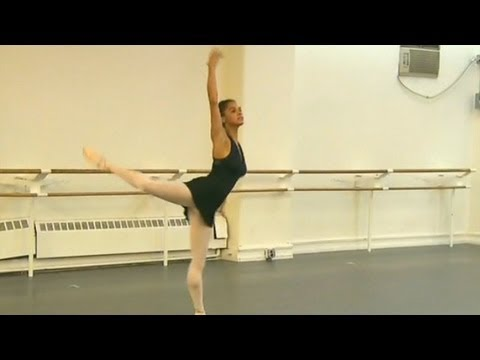 Black ballet dancer breaks barriers