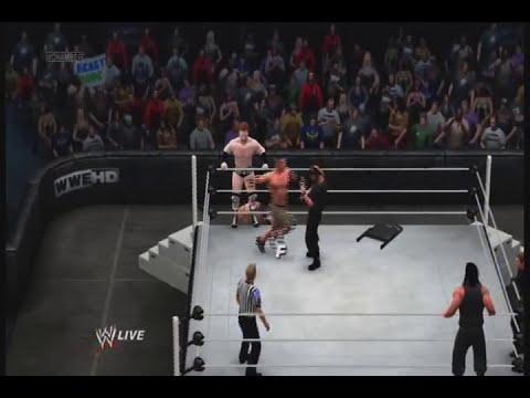 WWE 13 John Cena Ryback & Sheamus vs The Shield (Elimination Chamber 2013)