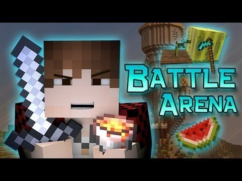 Minecraft: OG Battle-Arena Fight w/Mitch & Friends Part 2 of 2!