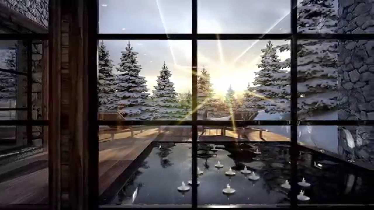 chalet owens courchevel film 3d vue 3d architecture 3d. Black Bedroom Furniture Sets. Home Design Ideas