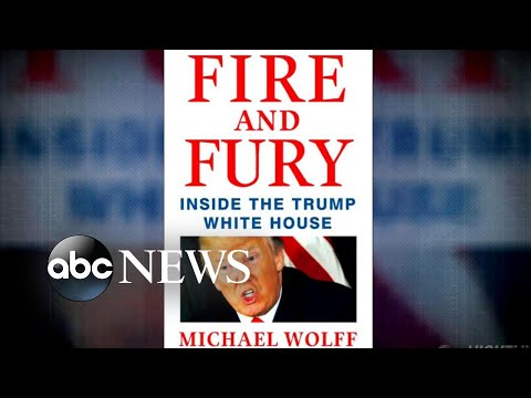Trump White House responds to explosive new book 'Fire and Fury'