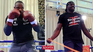 LIVE PUBLIC WORKOUT! Dillian Whyte vs Dereck Chisora 💪