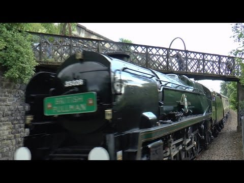 FullHD BR 35028 Clanline BELMOND BRITISH PULLMAN 14th May 2014