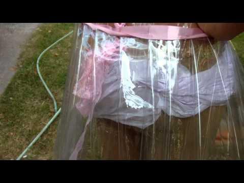 Vestido de Plastico
