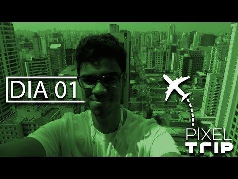 NÃO SABEMOS UTILIZAR O ELEVADOR! | PixelTrip #01