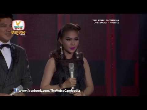 The Voice Cambodia - Live Show 2 - Mnus Srey Mneak Nis Min Tun Jreay - Paj Kim Muoy