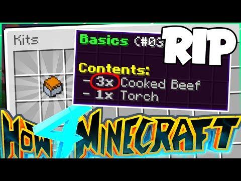 THE SERVER GOT NERFED... pretty hard - How To Minecraft S4 #12