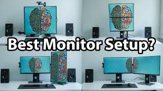 Best Way to Setup My Dual Monitors?