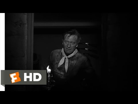 The Man Who Shot Liberty Valance (2/7) Movie CLIP - Burning Down Dreams (1962) HD
