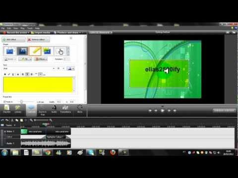 Como utilizar o Camtasia Studio 7.1.