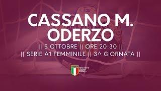 Serie A1F [3^]: Cassano Magnago - Oderzo 22-29