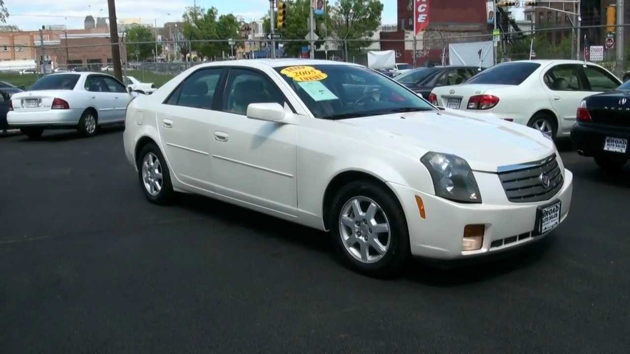 2005 Cadillac Cts 3 6l White Diamond Youtube