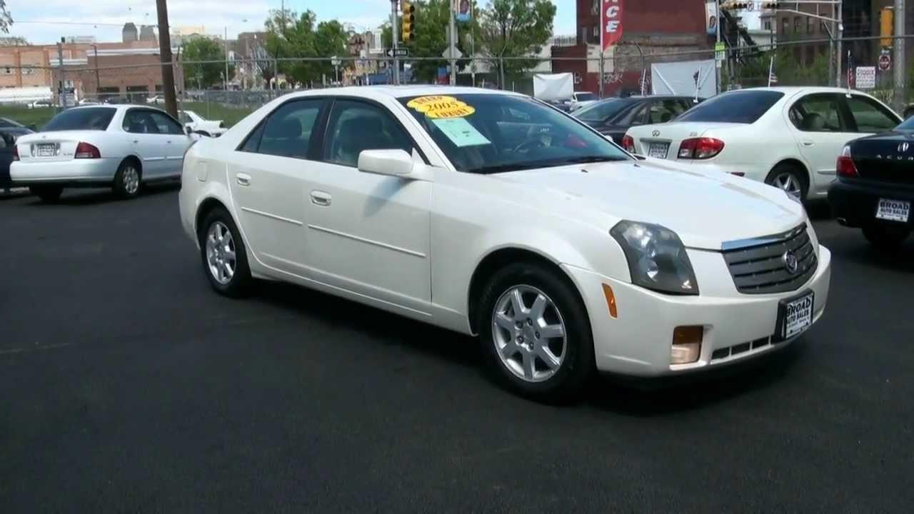 2005 Cadillac CTS 3.6L White Diamond - YouTube