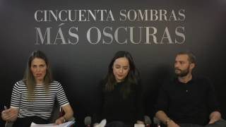 Jamie Dornan y Dakota Johnson en Facebook Live Spain
