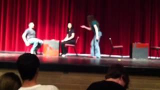 Stage combat - Jose Kim and Noel.