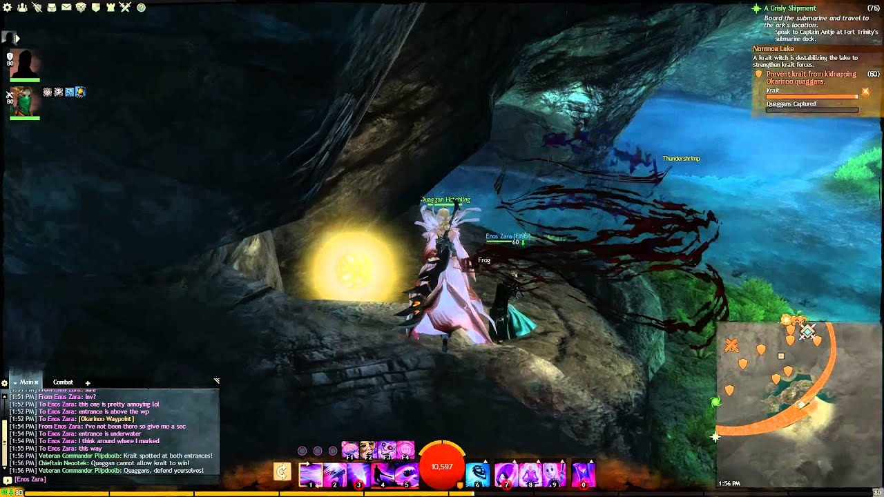Gw2 Coddler 39 S Cove Jumping Puzzle Guide Timberline Falls Youtube