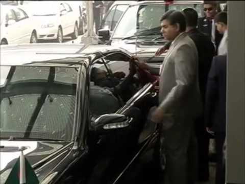 Bangladesh President Abdul Hamid arrives in New Delhi on official visit