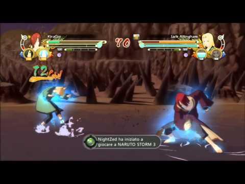 Naruto Storm 3 Online Gameplay - 3 - Nagato Vs Tsunade