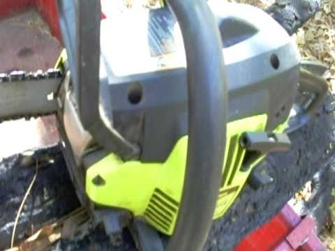 33cc poulan chainsaw 14in