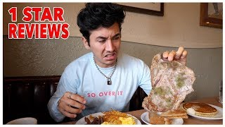 Eating At The WORST Reviewed Breakfast Restaurant In My City (Los Angeles)
