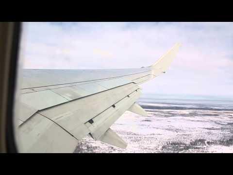 S7 AirLines Boeing 737-800 �зле� из �ового У�енго� NUX Рей� 420 о� 18.04.2013 �ов�й У�енгой NUX - �о�ква MOW DME.
