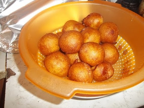 How to Make Ghanaian Buffloaf/Bofrot (Puff Puff)