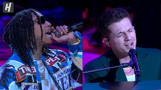 Download lagu Wiz Khalifa & Charlie Puth - See You Again ( Live Performance) Kobe Bryant Tribute