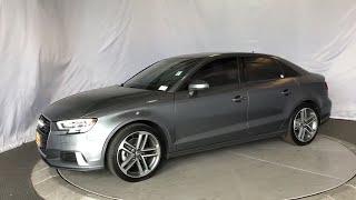 2018 Audi A3 Sedan Costa Mesa, Huntington Beach, Irvine, San Clemente, Santa Monica, CA PF6237