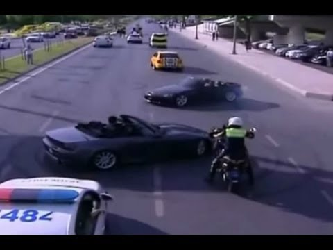 Street Racers VS Police Compilation 2014 FAIL / WIN
