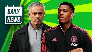Martial puts contract talks on hold + Wesley Sneijder bows out ► Daily Football News