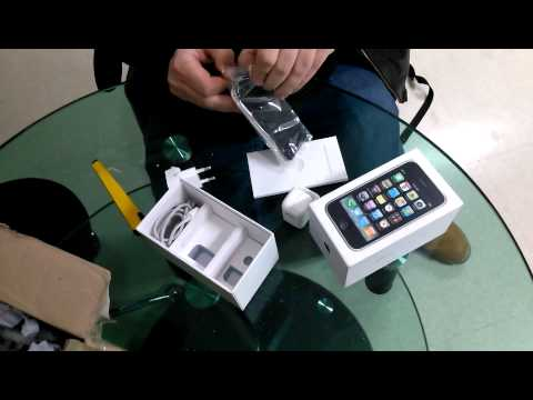 Customer Receives An Iphone 3g From Indian Shop Korea video