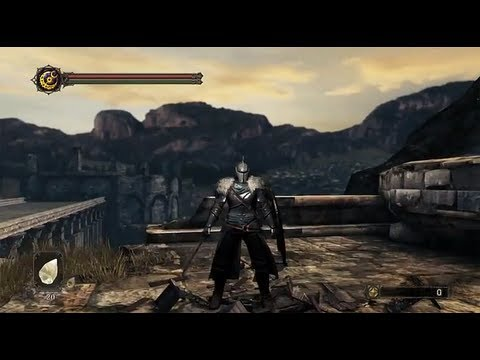 Dark Souls II - Cursed Hero, Gameplay & Commentary
