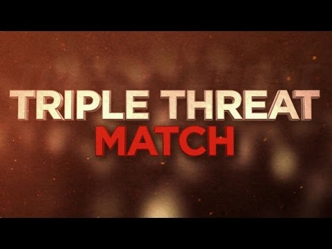 Wwe World Heavyweight Title In A Triple Threat Match Tonight At The Royal Rumble video