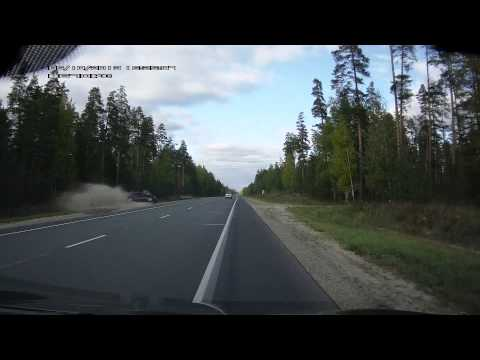 ДТП Шевроле Лачетти (Chevrolet Lacetti crash) и сапоги на дороге