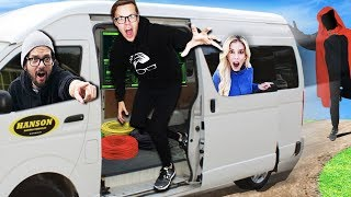 We Stole Spy Hacker Van for 24 Hours! (Game Master Event Clues inside)