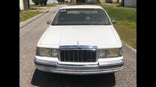 1990 5.0 Lincoln Town Car LoveBoat pt.5 Budget Drag Car