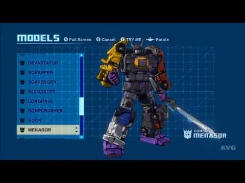 Transformers: Devastation - All Transformations (Autobots | Decepticons) [HD]